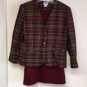 Vintage Koret Skirt Set Size 10